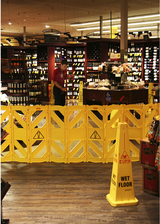 Wine Area Safety Barrier